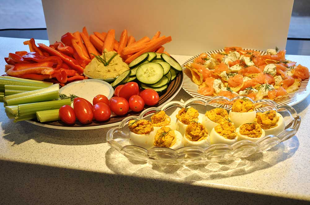 Catering Small Bite Platters