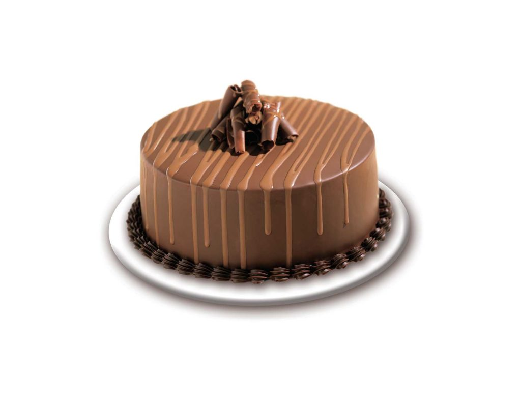CAKE Double Chocolate Curl